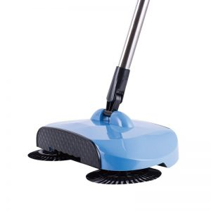 RVS Spin Broom - Draaiende Bezem