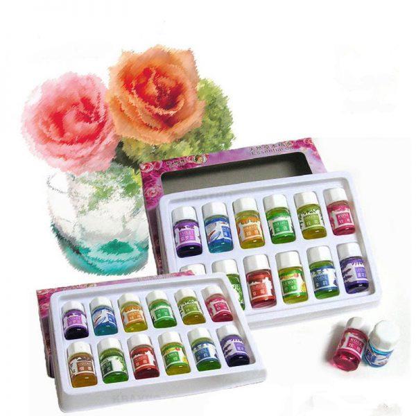 Etherische Oliën voor Aromatherapie Lavendel Luchtbevochtiger Olie met 12 essentiële olie Rose olie Aromatherapie groene thee 3