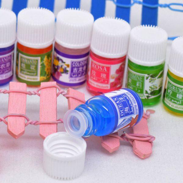Etherische Oliën voor Aromatherapie Lavendel Luchtbevochtiger Olie met 12 essentiële olie Rose olie Aromatherapie groene thee 5