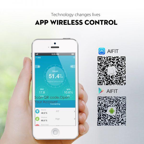 Bluetooth weegschaal hulp bij afvallen 5
