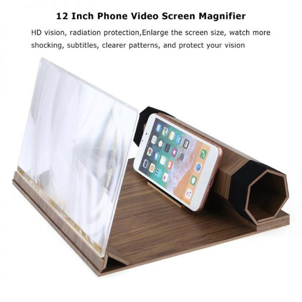 12 Inch Mobiele Telefoon 3D Vergrootglas 4