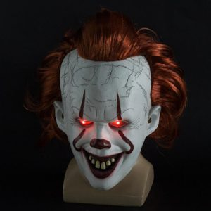 Stephen King's IT Pennywise incl. LED-verlichting Halloween Masker