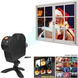 Home Theater Projector (incl. 12 films)