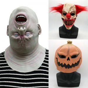 Griezelige Halloween Maskers (diverse varianten)