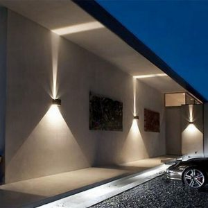 LED outdoor wandlamp