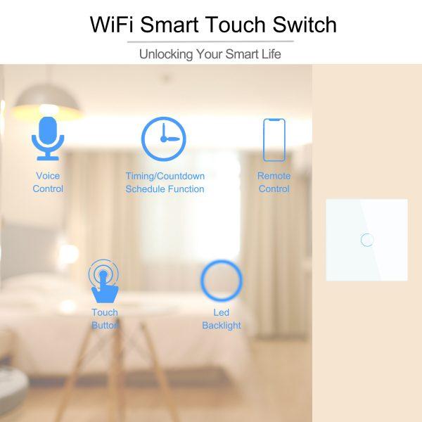 Smart Wifi Touch licht 1