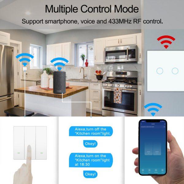 Smart Wifi Touch licht 2