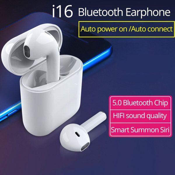 Draadloze Bluetooth oortjes i16 2
